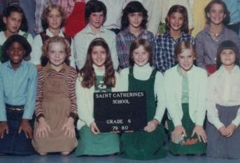 6th grade class photo