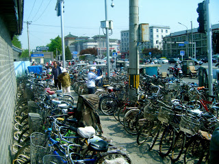 Crowded Bike Rack