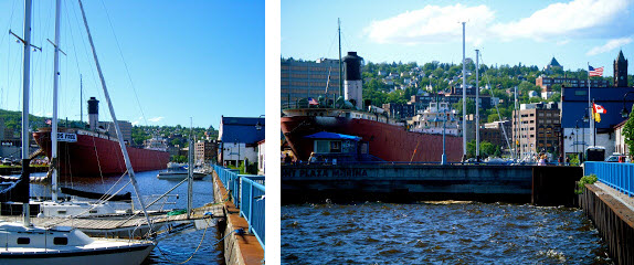 Boats in Duluth, MN
