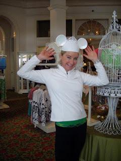Brooke at Disney