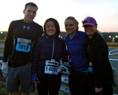 Runners before the DC Marathon