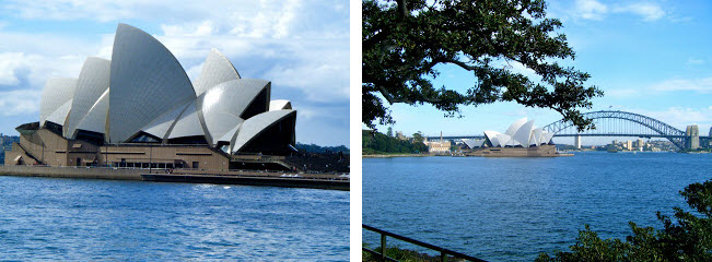 Sydney Opera House and Sydney Harbor Bridge