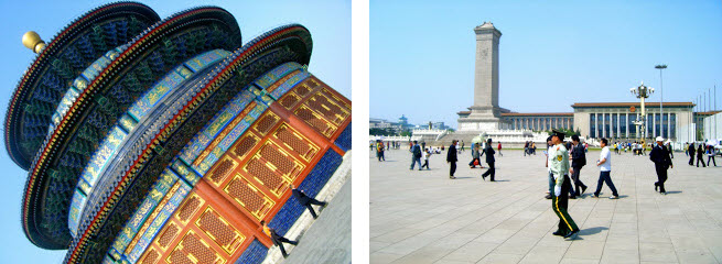 Temple of Heaven and Tiananmen Square