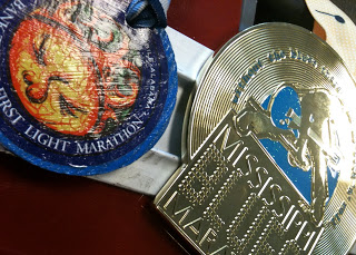 Two Finisher Medals