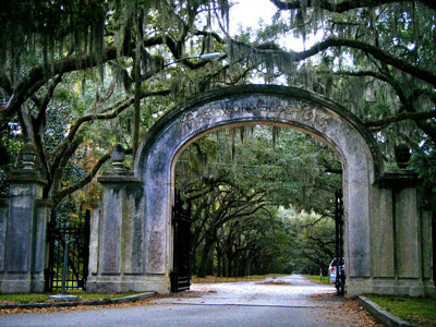 Wormsloe, a 1736 Colonial Plantation with Tabby (oyster shell) ruins